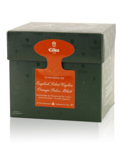 Tea Diamonds English Select Ceylon Orange Pekoe Blatt von Eilles, 20er Box