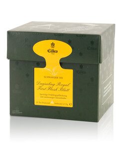 Tea Diamonds Darjeeling Royal First Flush Blatt von Eilles, 20er Box