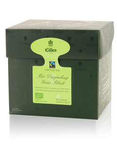 EILLES BIO Tea Diamonds Darjeeling Green Fairtrade 20er Box