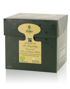 Tea Diamonds Bio Darjeeling Imperial Second Flush Blatt von Eilles, 20er Box