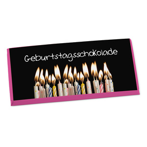 "Schokolade ""Geburtstag"", 100g"