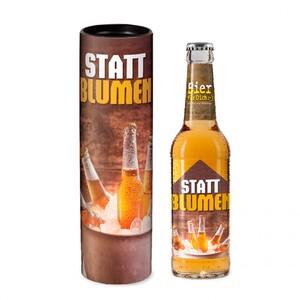 "Bier ""Statt Blumen"", 0,33l"