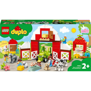 LEGO® DUPLO 10952 - Scheune, Traktor und Tierpflege