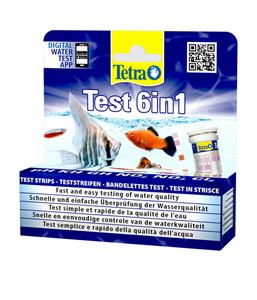 Tetra Wassertest Test 6in1 Teststreifen