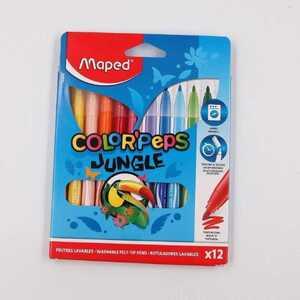 Maped Color`Peps Jungle Fasermaler Filzstifte 12er-Pack