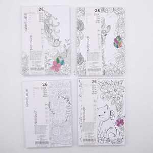 """Notizbuch """"Secret Garden"""", A5, 96 Blatt, 70 GSM, Hardcover, verschiedene Ausführungen und Motive"""