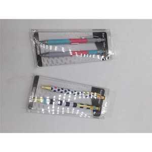 Officeline Kugelschreiber, mit Clip, 2er-Pack, verschiedene Ausführungen