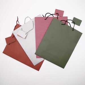 Geschenktasche, ca. 32 x 26 x 12 cm, Matt, verschiedene Farben