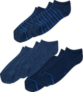 REDBEST Herren-Sneaker-Socken im 6er-Pack  Uni#gemustert  43 - 46