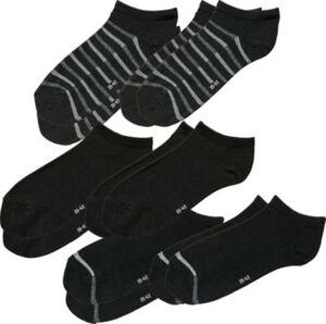 REDBEST Herren-Sneaker-Socken im 6er-Pack  Uni#gemustert  39 - 42