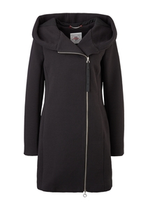 Damen Slim Fit: Mantel mit Ottoman-Struktur