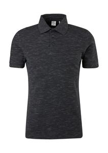 Herren Meliertes Poloshirt aus Piqué
