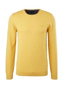 Herren Feinstrick-Pullover in Unicolor