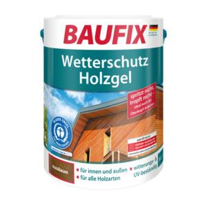Baufix Wetterschutz-Holzgel Nussbaum