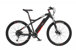 Telefunken E-Bike Mountainbike 27,5'' Aufsteiger M920, rot