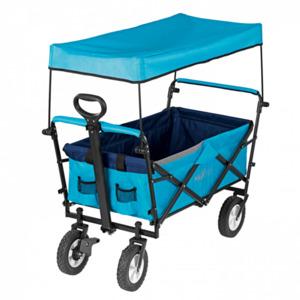 MAXXMEE Bollerwagen faltbar, blau