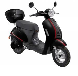 LuXXon E-Roller E3000 25 km/h (Mofa-Klasse), schwarz