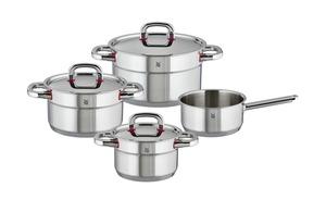 WMF Topfset 4-teilig  Premium One - silber - Edelstahl - Sale > Haushalt Sale - Möbel Kraft