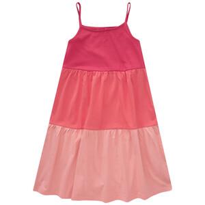 Mädchen Kleid mit Blockstreifen