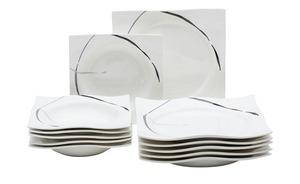 Ritzenhoff & Breker Tafelservice, 12-teilig  Da Capo - weiß - Porzellan - Geschenkideen