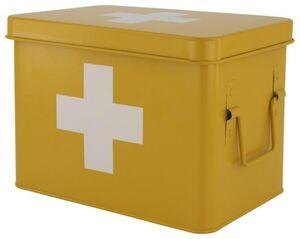 HEMA Medikamentenbox, 15.5 X 22.5 X 16 Cm, Ockergelb