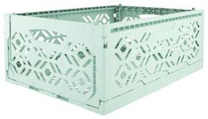 HEMA Klappkiste, Recycelt, 30 X 40 X 15 Cm, Mintgrün