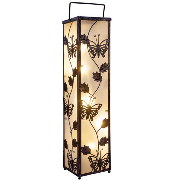 I-Glow LED Solar Standleuchte Schmetterling