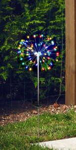 "I-Glow LED-Solarleuchte ""Pusteblume"" - Multicolor"