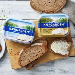 Arla Kærgården Original oder Balance gesalzen oder ungesalzen, jede 250-g-Packung
