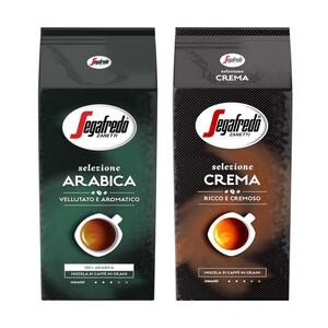 Segafredo Selezione Crema, Arabica oder Espresso Ganze Bohnen jede 1000-gPackung