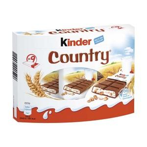 kinder Country 9er, jede 212-g-Packung
