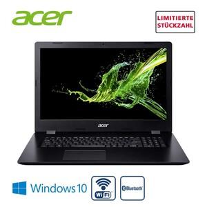 Aspire 3 A317-32-C49J • Intel® Celeron® N4120 (bis zu 2,6 GHz) • Acer CineCrystal™ HD+ Display mit LED-Backlight • Intel® UHD Graphics 600 • DVD-Laufwerk • Stereo-Lautsprecher, We