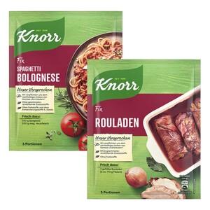 Knorr Fix jeder 31/38-g-Beutel und weitere Sorten