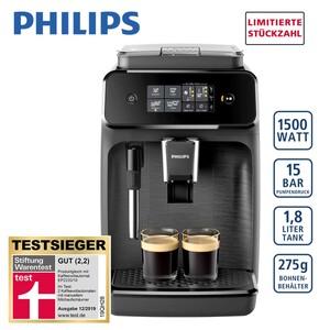 Kaffee-Vollautomat EP 1220/00 • 12 Mahlgrad-Einstellungen • 3 Temperatur-Einstellungen • kann auch mit Kaffeepulver betrieben werden