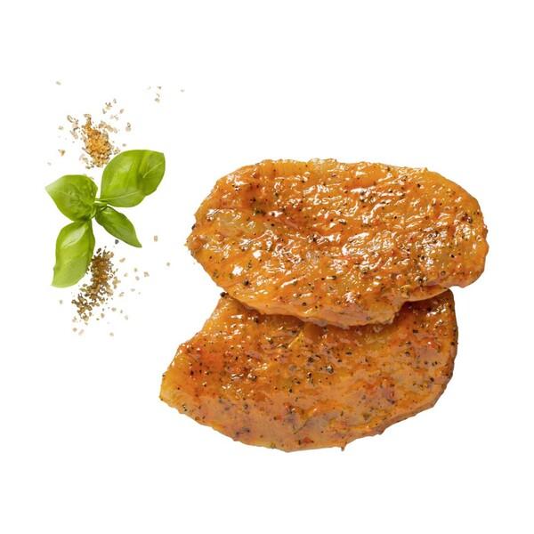 Frische Hähnchenbrust-Minutensteaks Teilstücke, versch. mariniert, je 1 kg