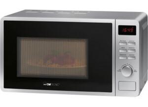 Clatronic Mikrowelle mit Grill MWG 793 silberfarbig