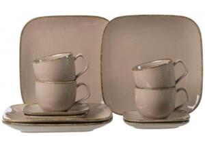 Ritzenhoff & Breker Kaffeeservice CASA 12-tlg. Grau
