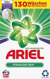 Ariel Strahlend Rein Vollwaschmittel Pulver 130 WL