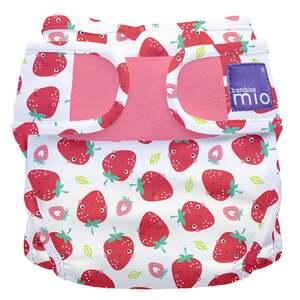 bambino mio mioduo Windelüberhose Erfrischende Erdbeere, Größe 2 (9 kg+)