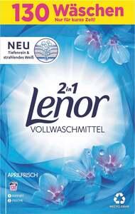 Lenor 2in1 Aprilfrisch Vollwaschmittel Pulver 130 WL