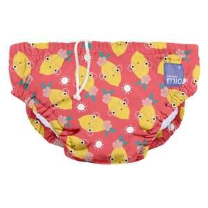 bambino mio Schwimmwindel Zappelige Zitrone, M (6-12 Monate)