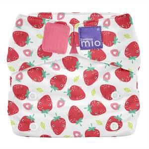 bambino mio miosolo All-in-One Stoffwindel Erfrischende Erdbeere