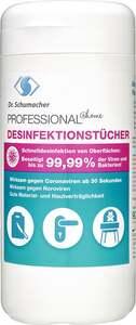 Dr. Schumacher PROFESSIONAL @home Desinfektionstücher