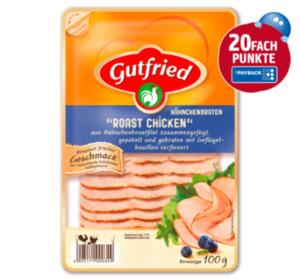 20Fach Punkte beim Kauf von Gutfried Produkten im Gesamtwert von über 2€