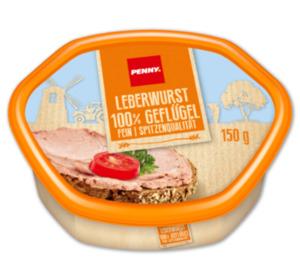 PENNY Geflügelleberwurst