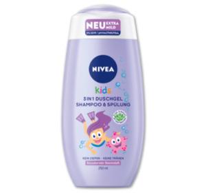 NIVEA Kids 3 in 1 Duschgel Shampoo und Spülung