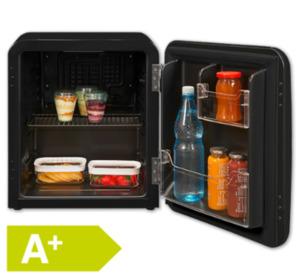 EXQUISIT Mini-Retrokühlschrank RKB04-14A+