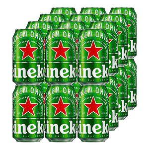 Heineken 5,0 % vol 0,33 Liter Dose, 24er Pack