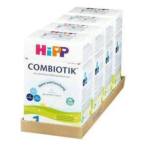 HiPP Bio 1 Combiotik von Geburt an 600 g, 4er Pack