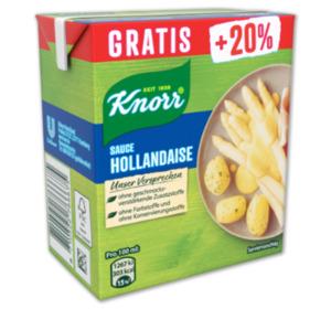 KNORR Sauce hollandaise oder Light